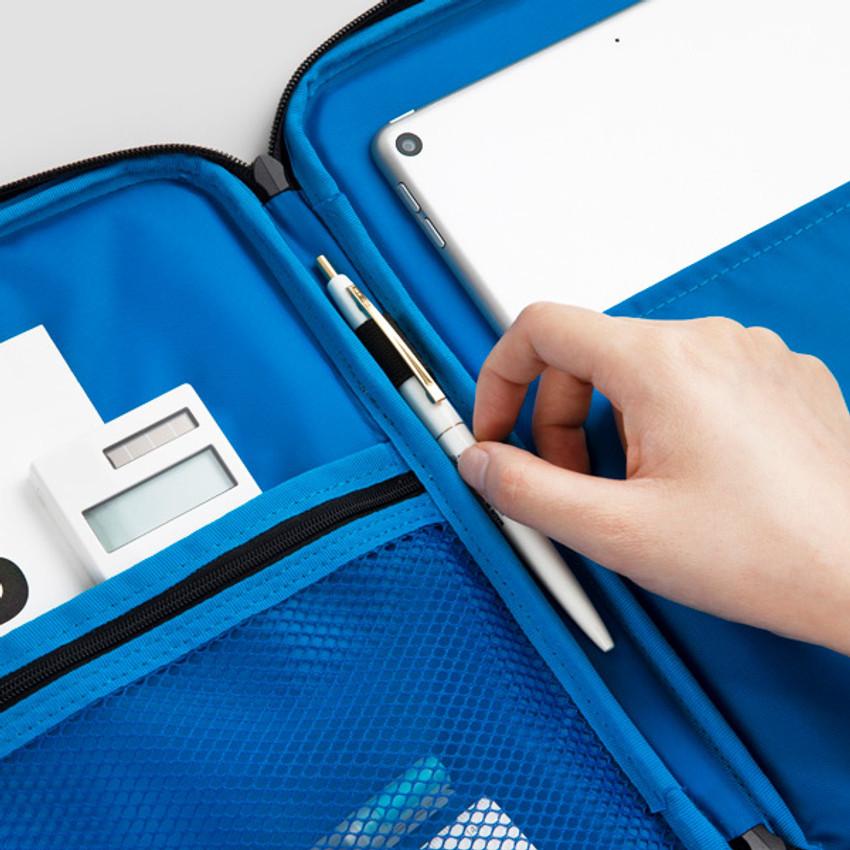 Pen holder - BNTP Today tablet PC iPad zipper multi pouch