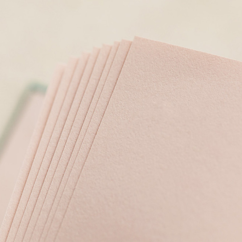 120gsm paper - Livework Korean poetry small hardcover blank notebook