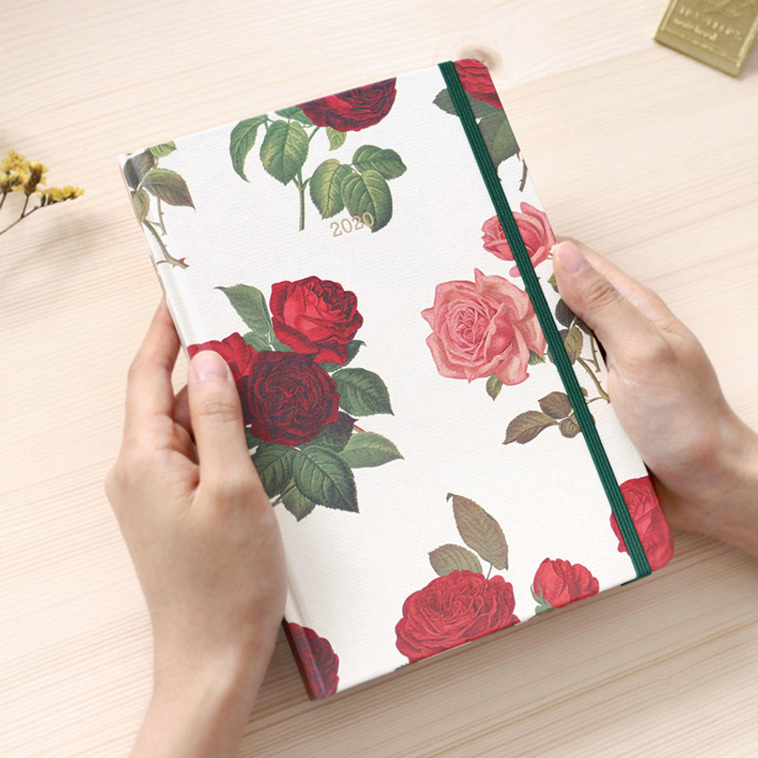 PAPERIAN 2020 Florence hardcover daily agenda planner