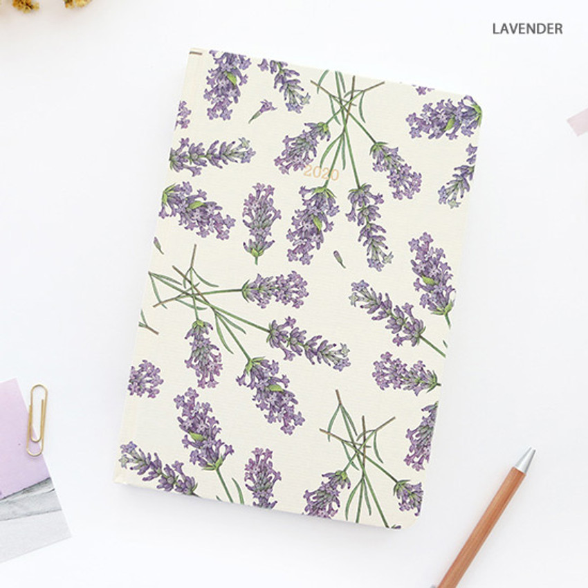 Lavender - PAPERIAN 2020 Florence hardcover daily agenda planner