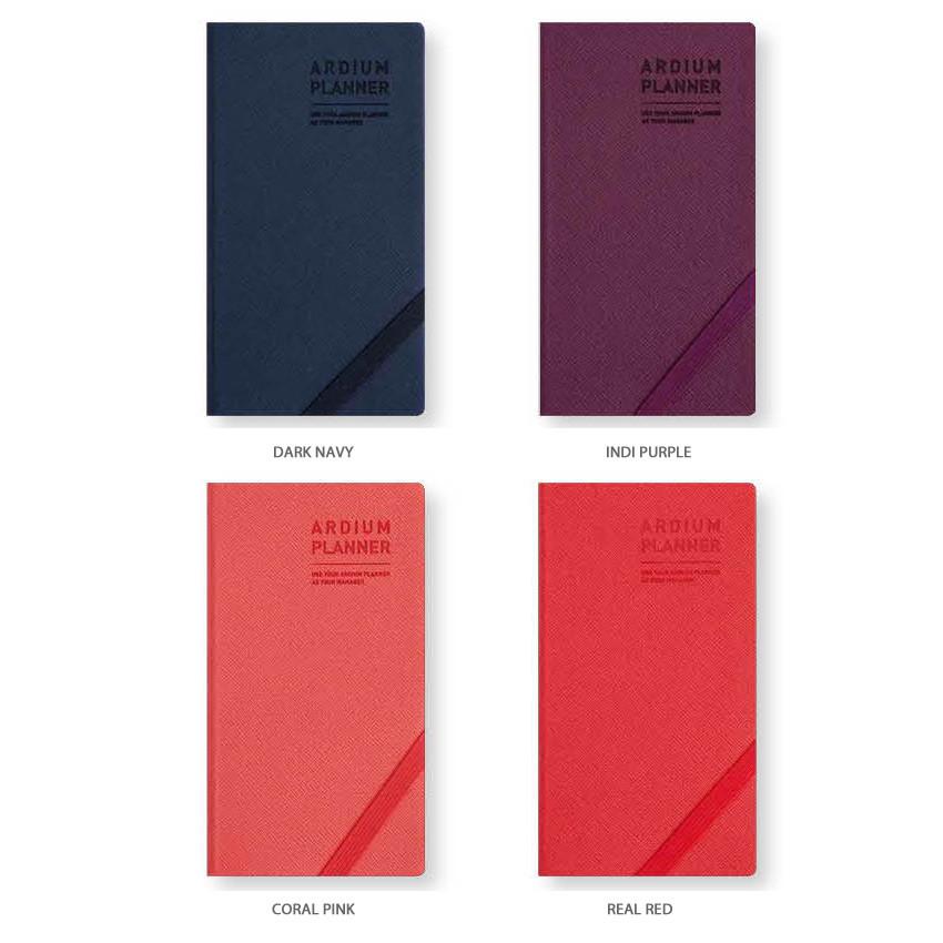 Color - Ardium 2020 Simple dated handy weekly planner scheduler