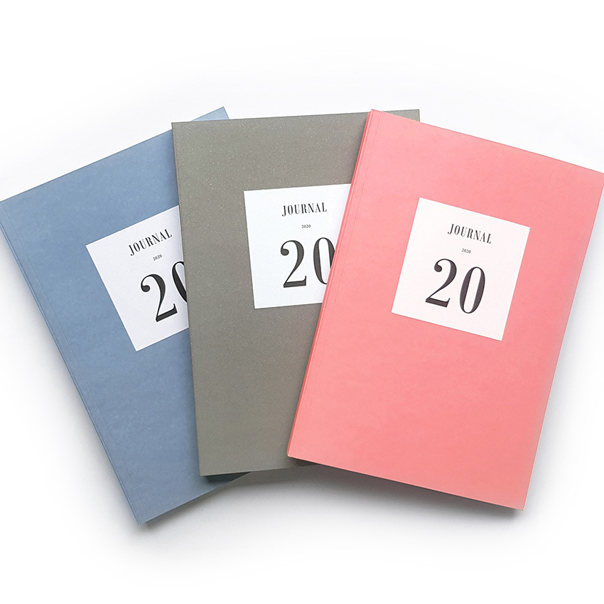 O-CHECK 2020 Simple and basic A5 dated weekly planner