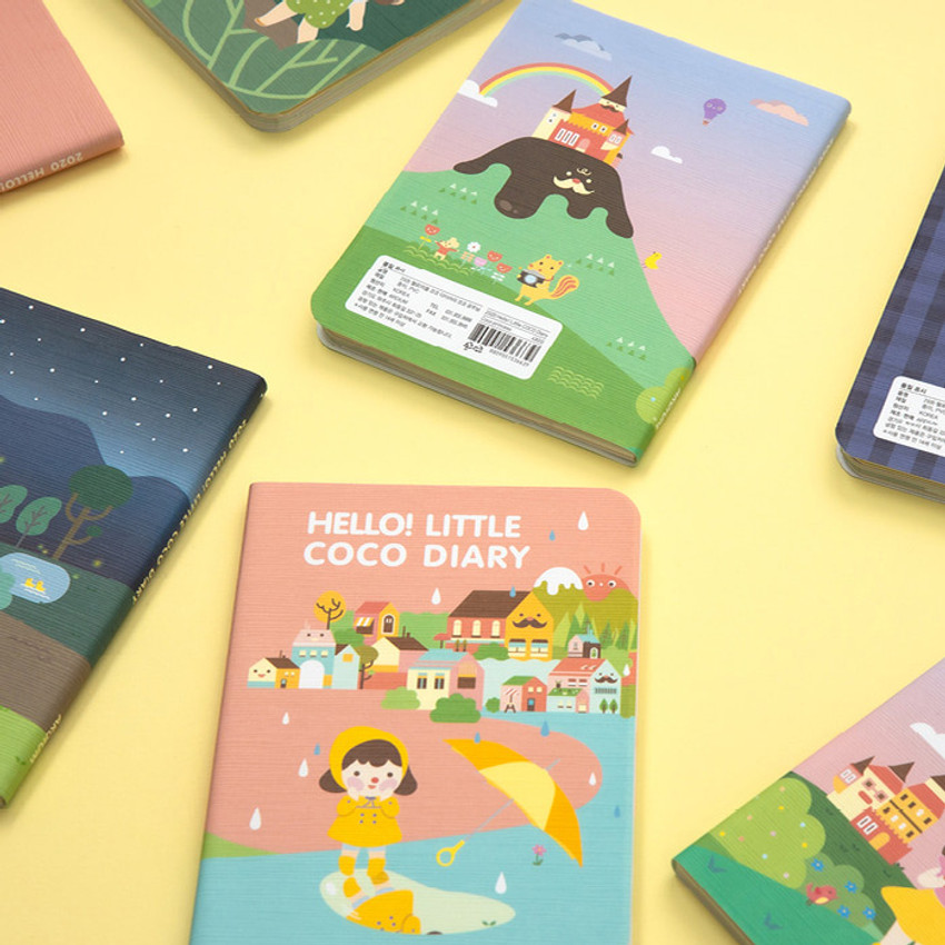 Ardium 2020 Hello little coco dated monthly diary planner
