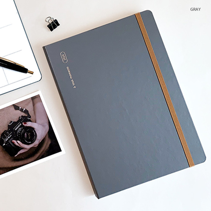 Gray - Gyou 2020 a tous moments dated weekly diary planner