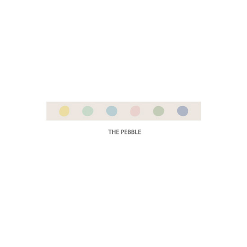 The Pebble - Gyou Compound single roll paper masking tape