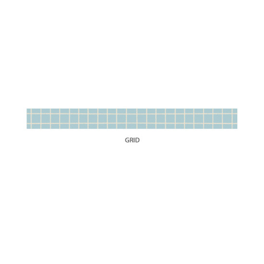 Grid - Gyou Compound single roll paper masking tape