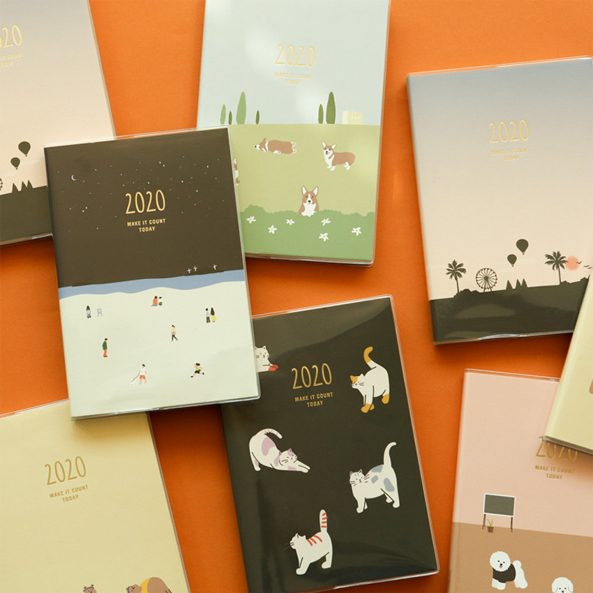 2020 Make it count today dated weekly planner diary