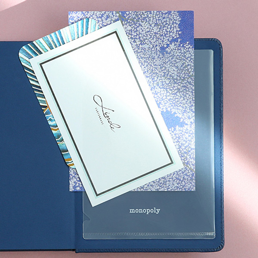Comes with pocket sticker - Monopoly 2020 Appointment B6 business dated weekly planner