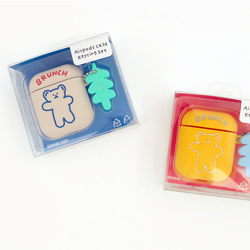 Package for Bear basic AirPods case silicone cover