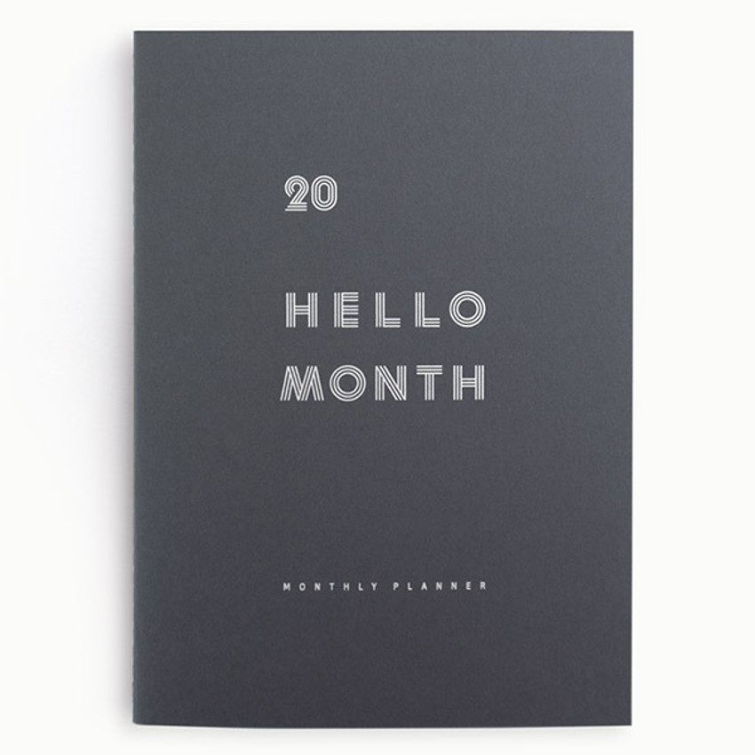 Eedendesign 2020 Hello month B5 dated monthly planner