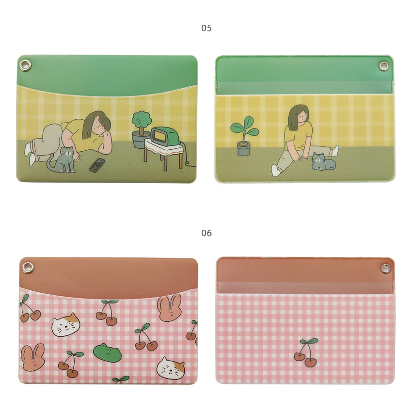 05, 06 - Monologue daily flat card case holder