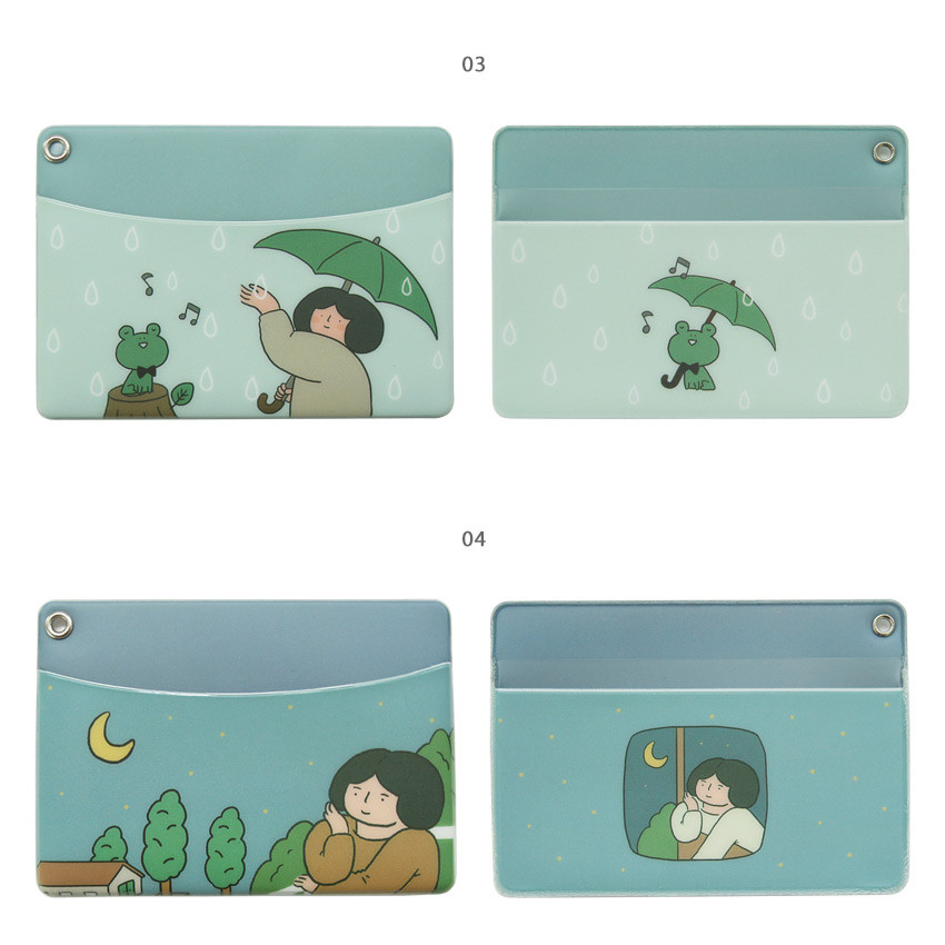 03, 04 - Monologue daily flat card case holder