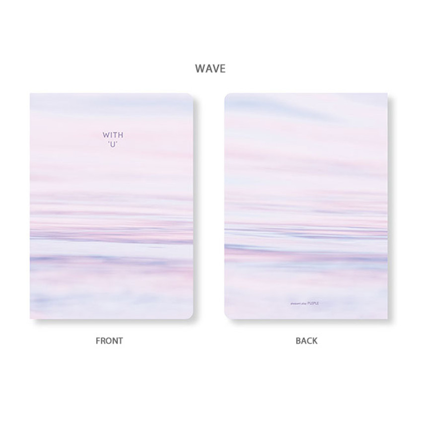 Wave - PLEPLE 2020 With you dated weekly diary planner
