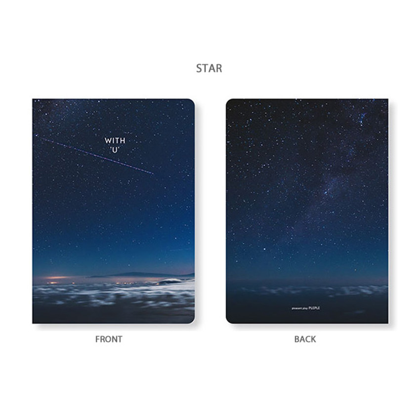 Star - PLEPLE 2020 With you dated weekly diary planner