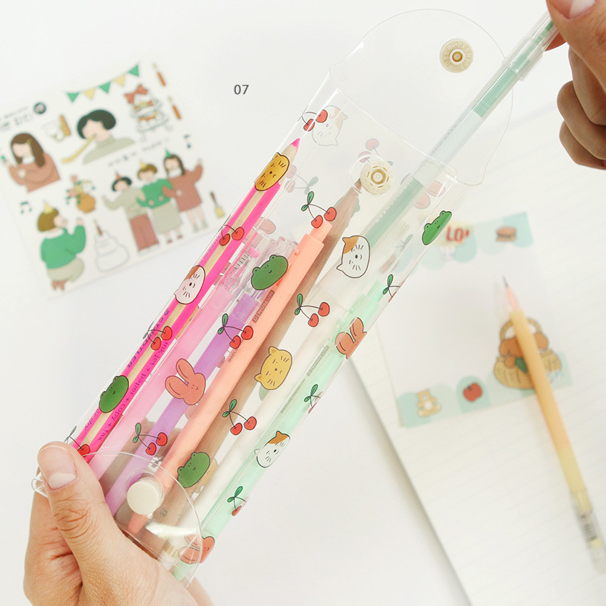07 - Monologue clear folding pencil case