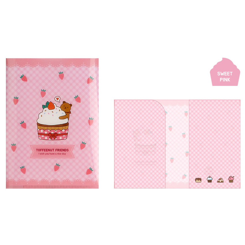 Sweet Pink - Monopoly Toffeenut friends PP document file folder