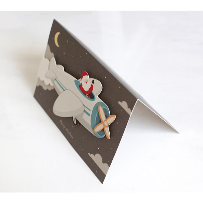 DBD Santa Christmas card with envelope