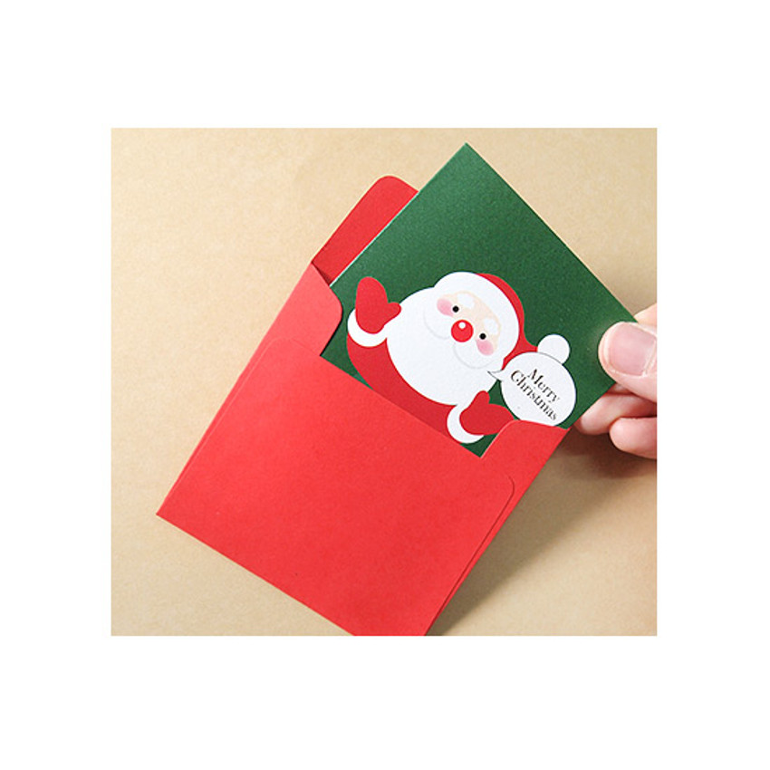 Comes with envelopes - 2young Merry Christmas 12 cards with envelopes set