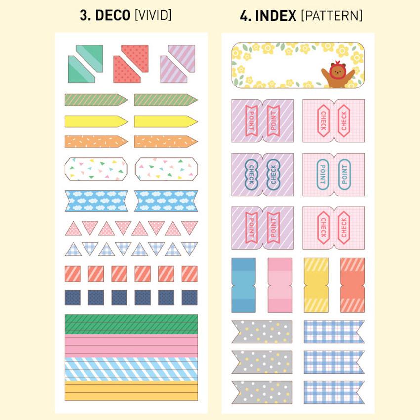 Option - Monopoly Satin deco index sticker