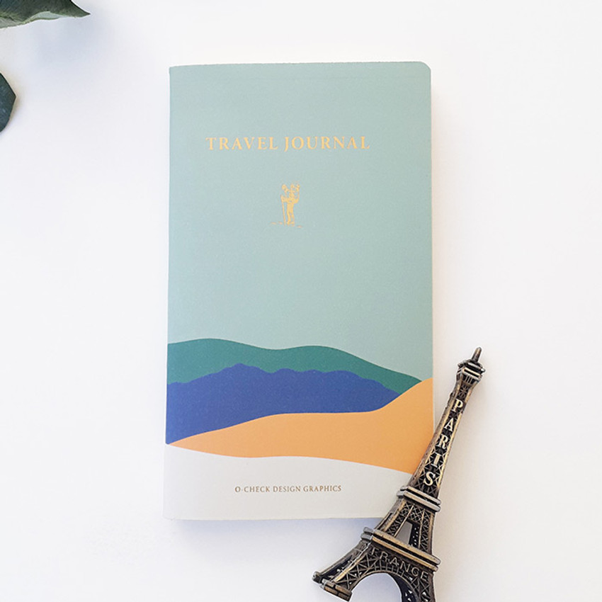 Mint - O-CHECK Travel planner journal notebook