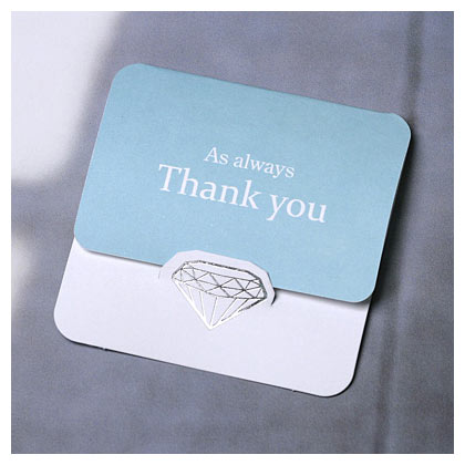 Thank You Card Mini Size For Wedding Gift Party Birthday