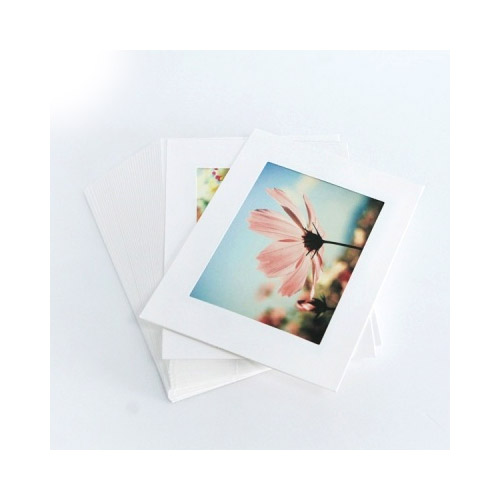 Moodsviews 4x6 White Paper Photo Frame Set Of 30 Sheets Fallindesign