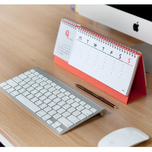 2015 Jstory Mr Babba Wirebound Calendar Desk Planner