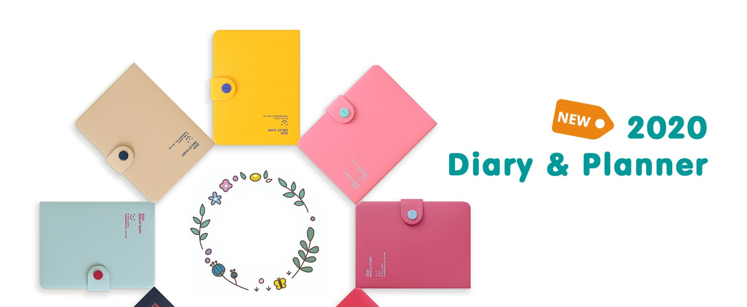 2020 diary and planner