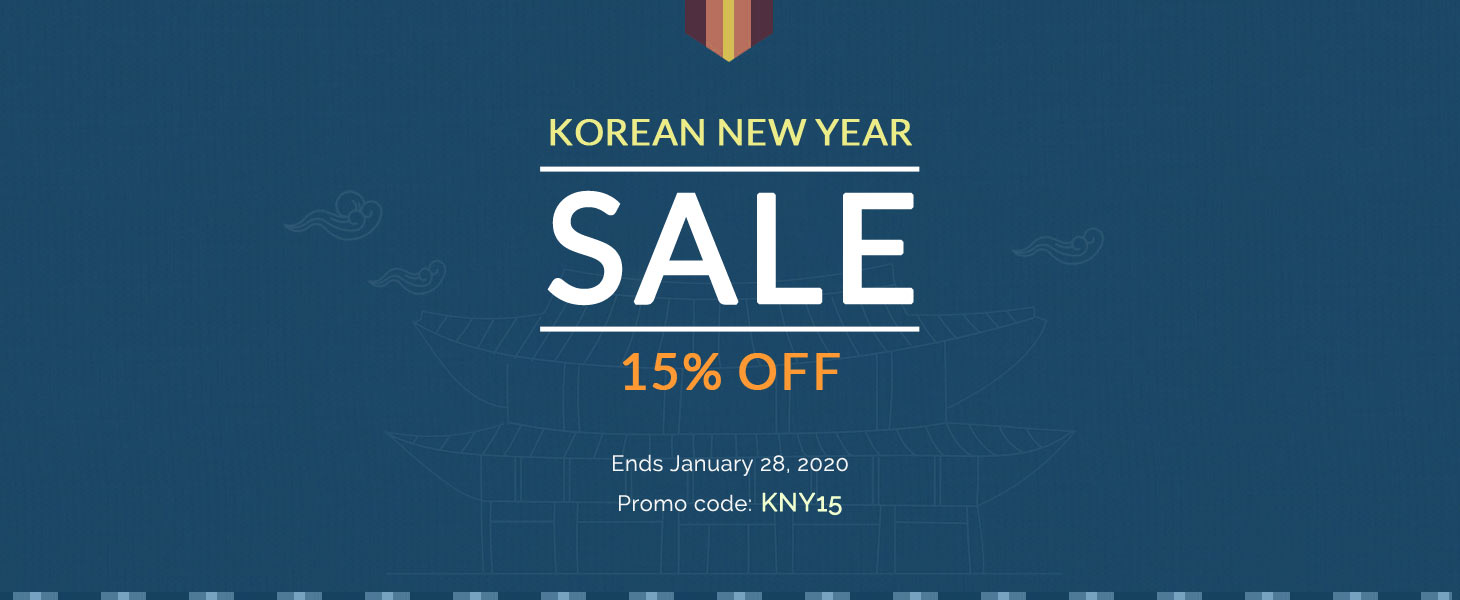 2020 Korean New Year Sale
