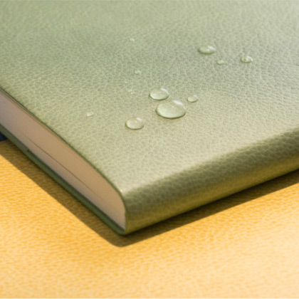 Synthetic leather cover