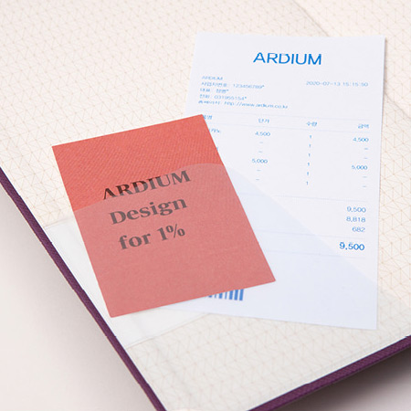 Comes with a pocket sticker - Ardium 2021 365 days medium dated daily journal diary