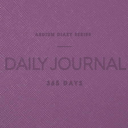 Hardcover-  Ardium 2021 365 days medium dated daily journal diary