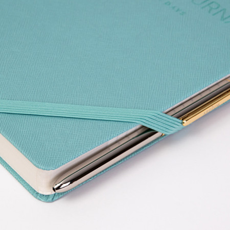 Elastic band closure - Ardium 2021 365 days medium dated daily journal diary