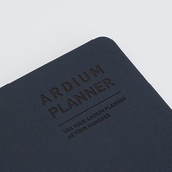 Hardcover - Ardium 2021 Simple medium dated weekly planner scheduler