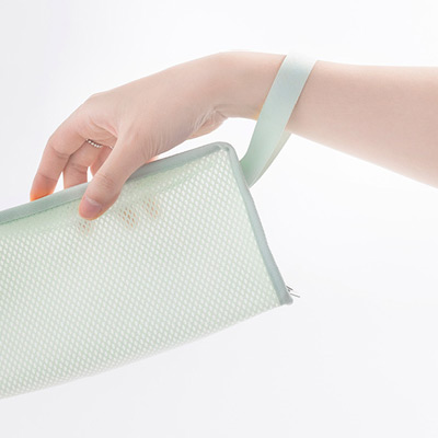 Strap - Byfulldesign Travelus cube long coated mesh pouch