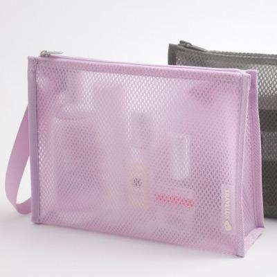 see-through - Byfulldesign Travelus medium coated mesh pouch ver3