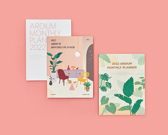 Fallindesign 2022 planners and diaries