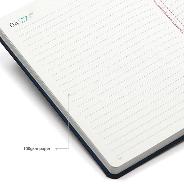 100gsm paper - MINIBUS 2021 Traveler's dated daily diary scheduler