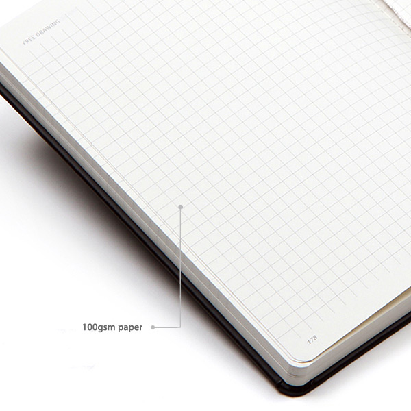100gsm paper - MINIBUS 2021 Traveler's dated weekly diary journal