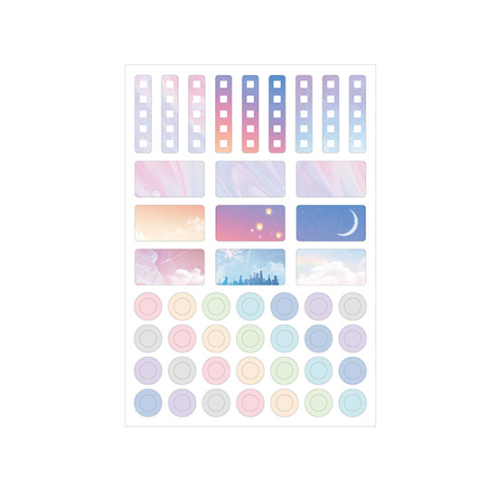 Comes with a sticker - PLEPLE 2021 My story dated weekly planner scheduler
