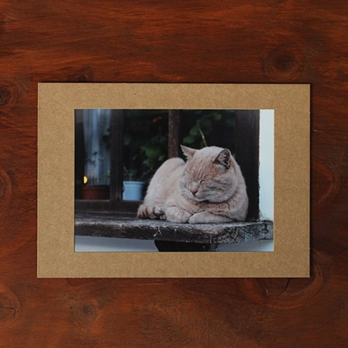Moodsviews Square 5x7 Kraft Paper Photo Frame Set Of 15 Sheets
