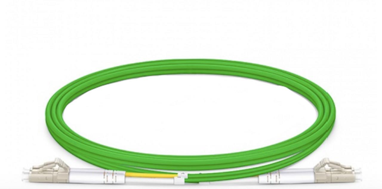 300M LC UPC to LC UPC Duplex PVC OM3,10GB Multimode Fiber Optic Patch Cable 064