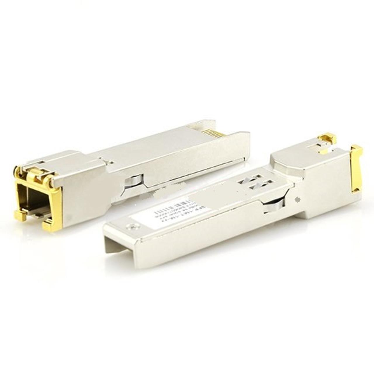 Cisco GLC-FE-T-I Compatible 100BASE-T SFP Copper RJ-45 100m IND Transceiver