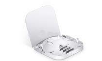 "6 Fibers Fusion Splice Tray, Plastic, 3.83""x3.31""x0.52"