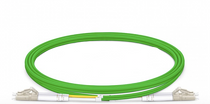 3m (10ft) LC UPC to LC UPC Duplex OM5 Multimode Wideband PVC (OFNR) 2.0mm Fiber Optic Patch Cable