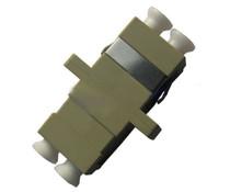 LC/UPC to LC/UPC Duplex SC Type Metal Fiber Adapter