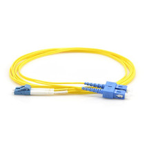 Fiber Patch Cable Single-mode  LC-SC Duplex 9/125 2M