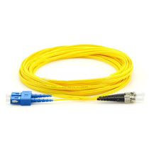 Fiber Patch Cable Single-mode  SC-ST Duplex 9/125 1M