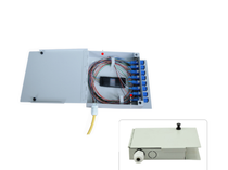 4 Fibers Wall Mounted Fiber Terminal Box as Distribution Box without pigtail