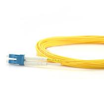 5m (16ft) Grade B LC UPC to LC UPC Duplex PVC(OFNR) OS2 Single Mode BIF Fiber Patch Cable, Typical 0.12dB IL